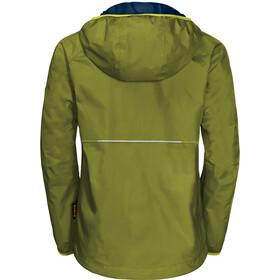 Jack Wolfskin Rainy Days Jacket Boys green tea